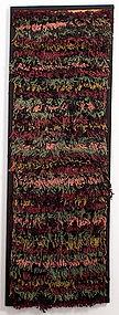 Abstract Hooked Rug: Circa 1920