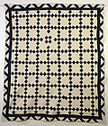 Nine Patch Quilt ; Circa 1880; Pennsylvania