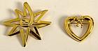 Tiffany Gold Pins