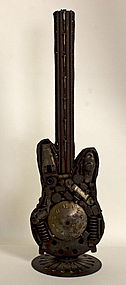 Metal Guitar from Assembled Parts