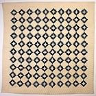 Chimney Sweep Quilt: Circa 1880; Pennsylvania