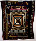 Velvet Center Medallion Quilt: Circa 1920; Pa.
