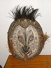 New Guinea Wood and Rattan mask