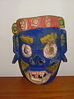 19th C Himalayan Wood Mask