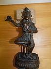 19th C Bronze Figure of Vajrayogini