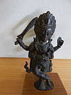 17th C. Bronze Figure of Bhairava