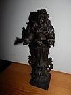 18th C Bronze Deepa Lakshmi Figure