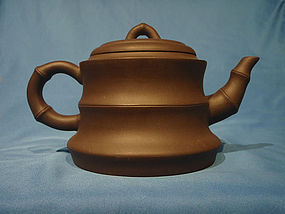 Yixing Teapot Bamboo Section Zhou Xifang