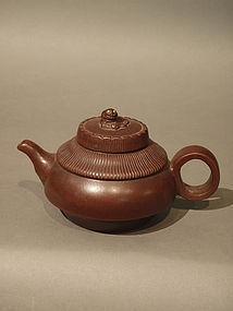 Yixing Teapot with Kylin Finial Xu Yufang