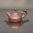 Dainty Yixing Teapot of Phoenix Form