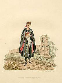 Costume of Austria Young Bride of Egra 1804