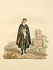 Costume of Austria Young Bride of Egra 1804