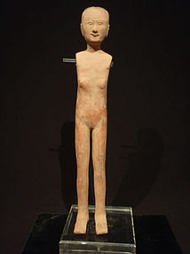 Han Dynasty Yang Ling Tomb Figure Female