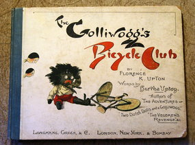 ExRare 1896 Florence Upton The Golliwoggs Bicycle Club
