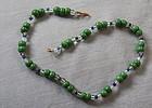 1930s New Orleans Czechoslovakia Glass Mardi Gras Beads