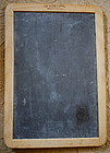1940s Double Sided School Slate Made in Portugal