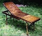 RARE Civil War Field Surgical / Mortuary Gleasons Table