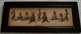 1897 Racist Lithograph ALLIGATOR BAIT McCrary + Branson