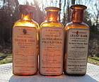 Circa 1900 J Wyeth Pharmacy Drugstore Poison Bottle