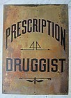 Terrific Pharmacy Drug Store Prescription Druggist Sign