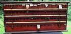 Fabulous Antique 19thC Pharmacy Drugstore Label Cabinet