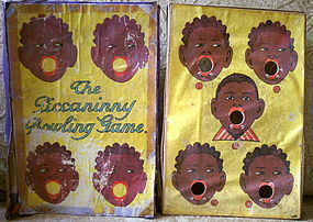 Scarce 1928 THE PICCANINNY BOWLING GAME Spear Germany