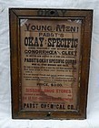 Rare Pharmacy Advertising Gonorrhea VD STD Cure Sign