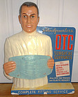 Fab C1940 Figural Pharmacist Surgical Chalkware Display