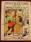Fab1935 Platt & Munk 1st Ed. Little Black Sambo and The Monkey People