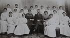 RARE 1880 Hospital Nursing School Graduation Photograph
