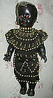 Black Memorabilia Mammy African Mother Baby Dolls BEADS