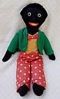 Ca 1940s Black Americana Florence Upton Golliwogg Doll