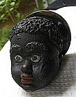 1920 Black Memorabilia Cast Iron Boy's Head Paperweight