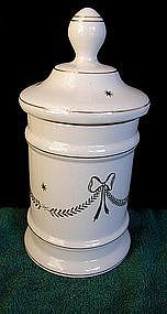 LOVELY 1930s GERMANY CERAMIC APOTHECARY DRUG JAR