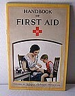 1930s J&J Hanging First Aid Kit w/Contents & Guide