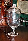 Great Vintage Apothecary Drug Store Counter Urn Jar