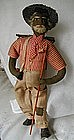 1930 Alabama WPA Folk Art Black Stick Gatherer Doll