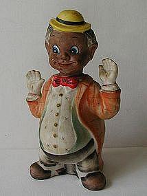 1950s Black Americana Boy Clown Nodder Ardalt Japan
