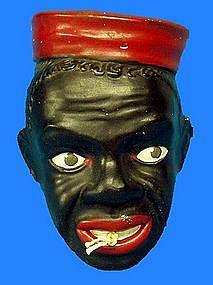 1939 Fredericksburg Ohio Black Man RedCap String Holder