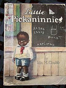 Rare 1929 Black Americana LITTLE PICKANINNIES Book