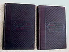 1879 WOODs Diseases of the Liver 2 Volume Medical Set