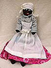 1940s Black Memorabilia Jointed Cloth Mammy Doll