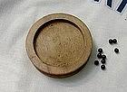 Antique Wood Drugstore Pharmacy Pill Finisher / Rounder