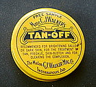 RARE C1920s Madam C J Walker TAN OFF Skin Lightener Tin