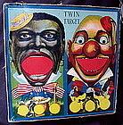1920s Milton Bradley Black Memorabilia TWIN TARGET Game
