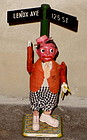 Occupied Japan Wind Up Dancing HARLEM Black Boy Tin Toy