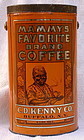 1920s 4LB Mammy's Favorite Brand Coffee Tin Baltimore