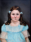 Portrait of a Young Girl by Emma Spear