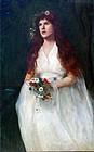 Pre-Raphaelite Painting of Ophelia