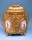 Ornate Antique French Jewelry Box